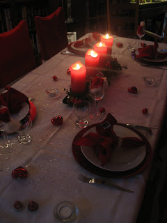 Christmas Eve Tablescape!