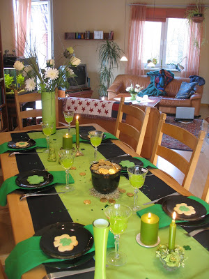 A St. Patty Day Tablescape