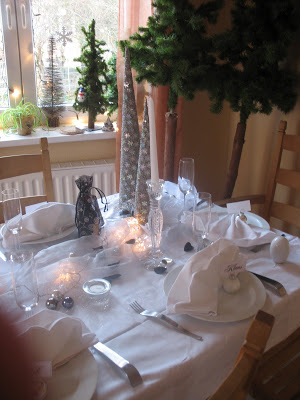 New Years Day TableScape