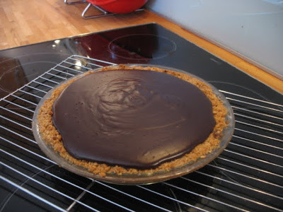 Chocolate Cream Pie-the first pie of many!