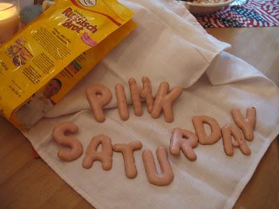 Edible pink!