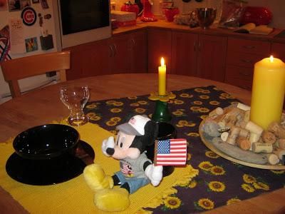 Breakfast for Mickey