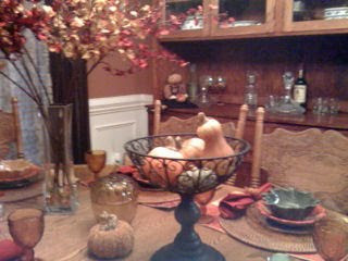 A North Carolina Tablescape for Fall