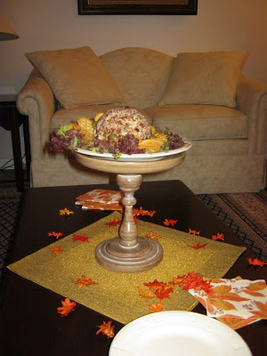 A Thanksgiving Cheese Ball