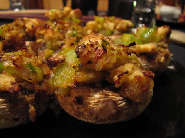 Savory Stuffed Mushrooms–Yummy