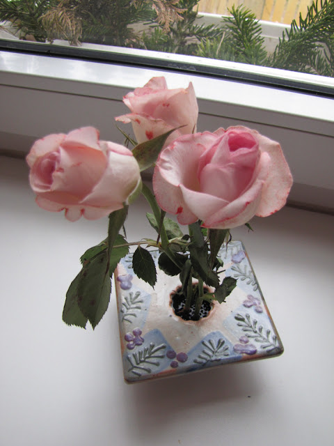 Roses are pink……..