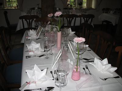 A special Wedding Tablescape