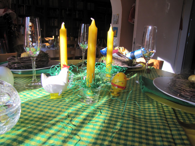 Easter Sunday in the kitchen