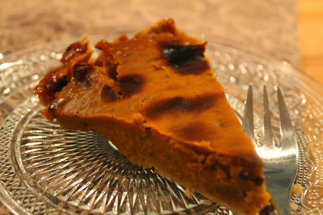 Homemade Pumpkin pie……no more canned