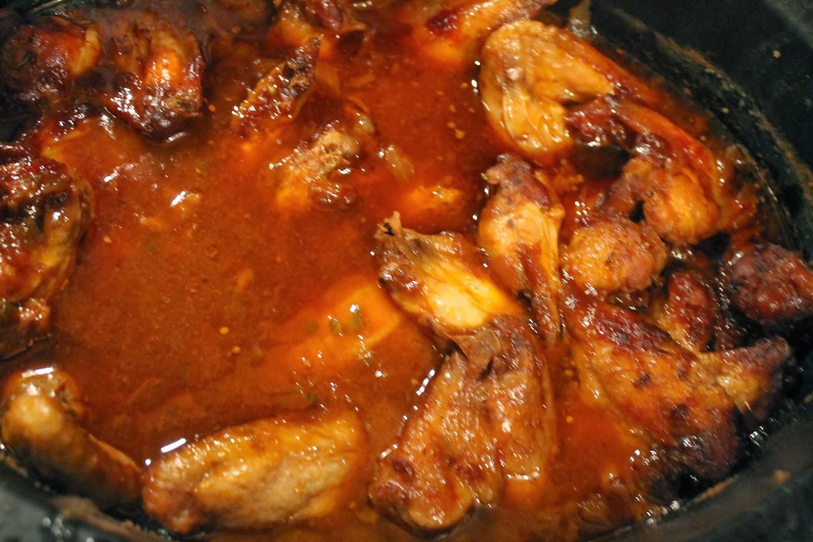 Crock Pot Chicken Wings