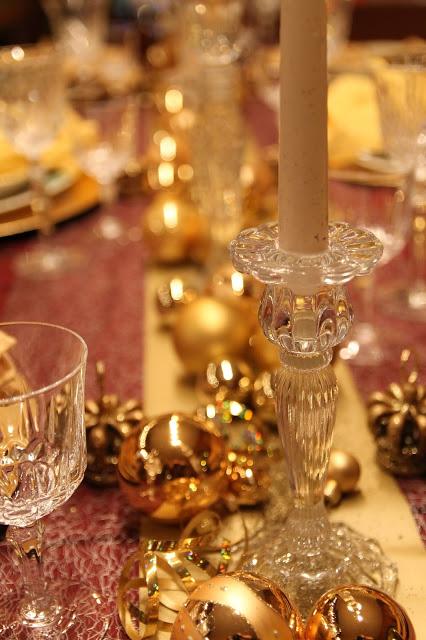 closeup Candlestick crystal