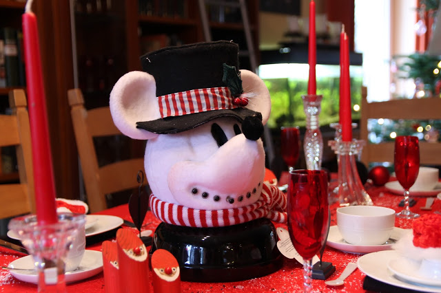 Christmas Tablescape……Take 2