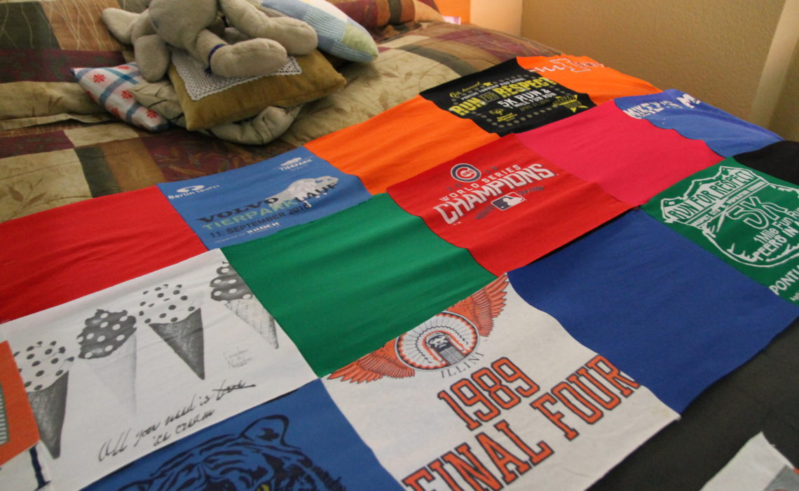 T-shirt Blanket Phase 2