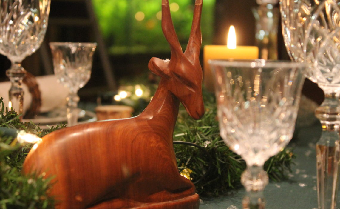 On the 8th day of tablescaping……