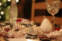 On the 12th day of tablescaping…..